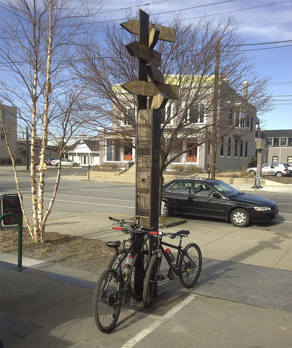 """""""As the Old Crow Flies"""" on East Market Street. (Courtesy Tipster)"""