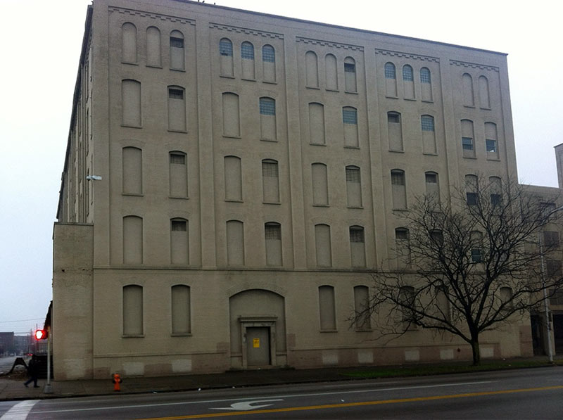 Former tobacco warehouse to be demolished. (Courtesy Tipster)