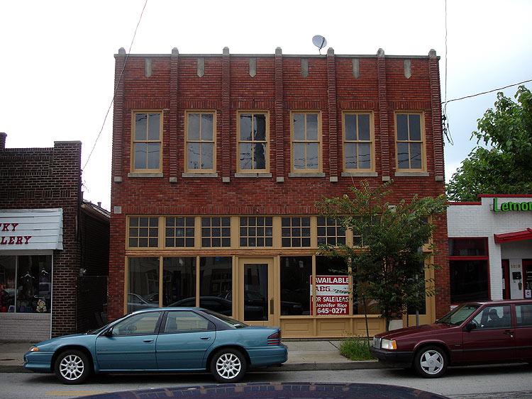 Future home of MozzaPi at 1015 Bardstown Road. (Branden Klayko)