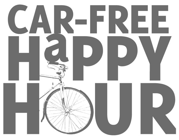 Car-Free Happy Hour Set for August 22, 2012