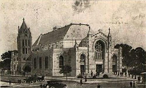 Fourth Street Baptist Church.