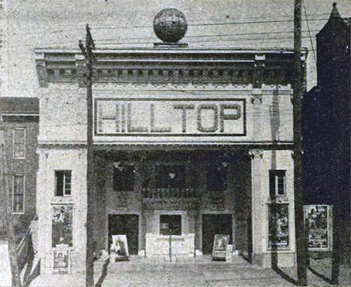 The Hilltop Theater circa 1915. (Courtesy Hilltop)