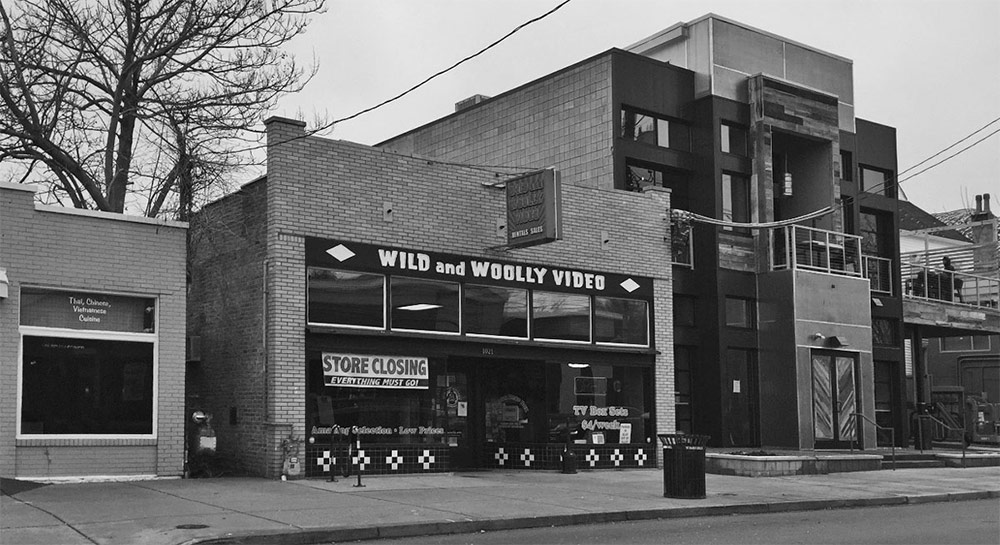 Wild & Woolly Videos on Bardstown Road. (Patrick Piuma)