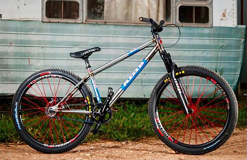 The REEB Destroyer Dirt Jumper bike. (Courtesy NAHBS)