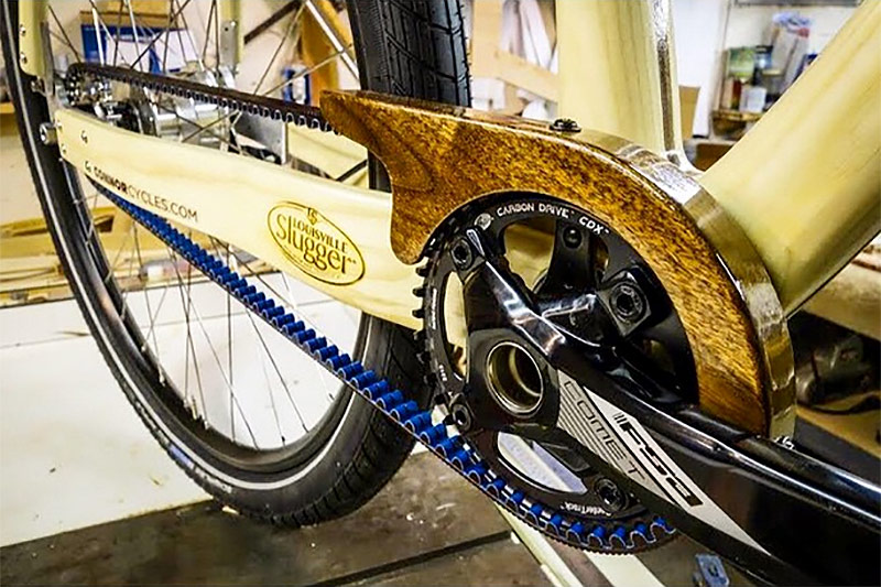 The Louisville Slugger bike will be unveiled at the show. (Courtesy NAHBS)