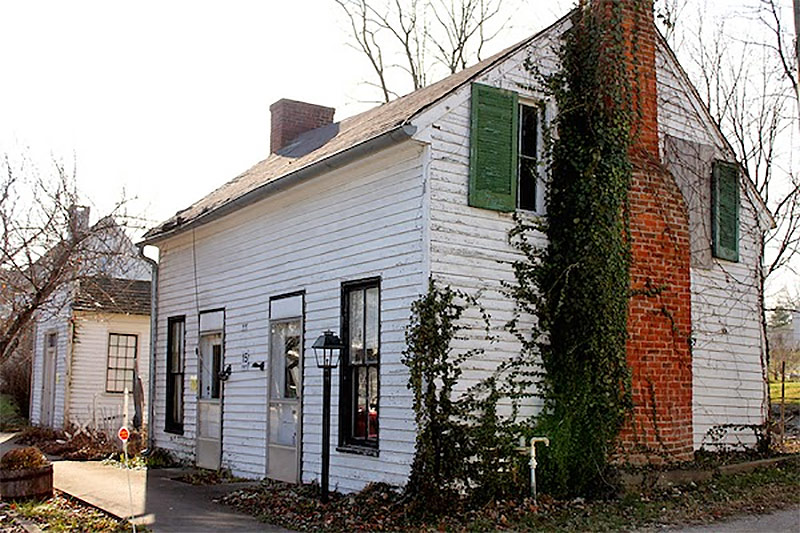 Dr. Polk House in Perryville, Kentucky. (Courtesy BGT)