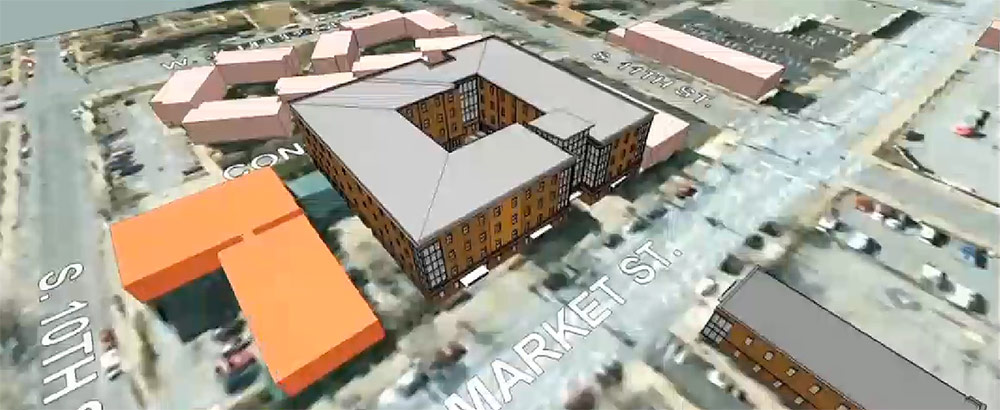 Rendering of the new building. (Courtesy The Healing Place)