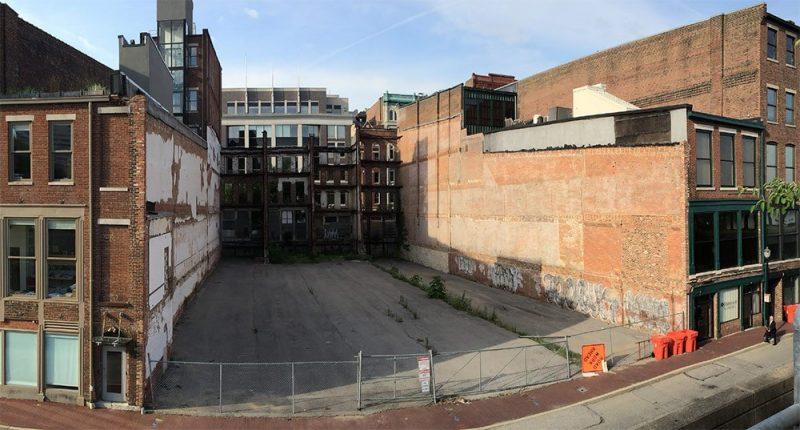 The Resurfaced site as a blank slate. (Courtesy Resurfaced)