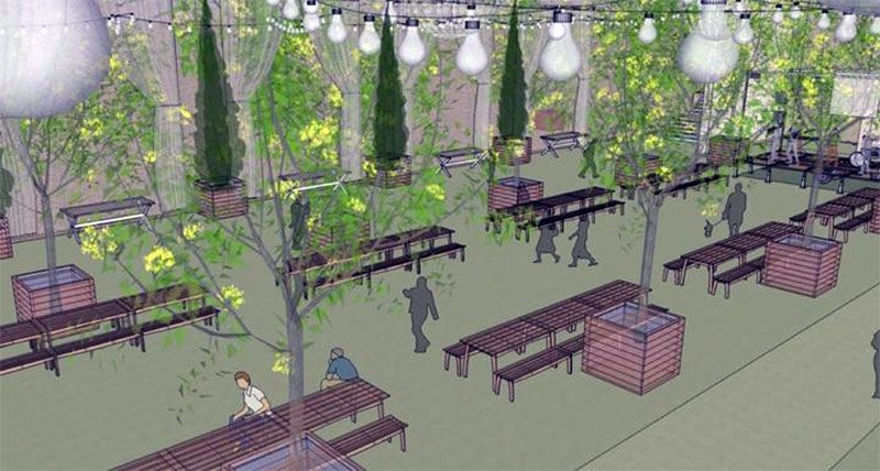 Rendering of the new Resurfaced. (Courtesy Patrick Henry Landscape Architects)