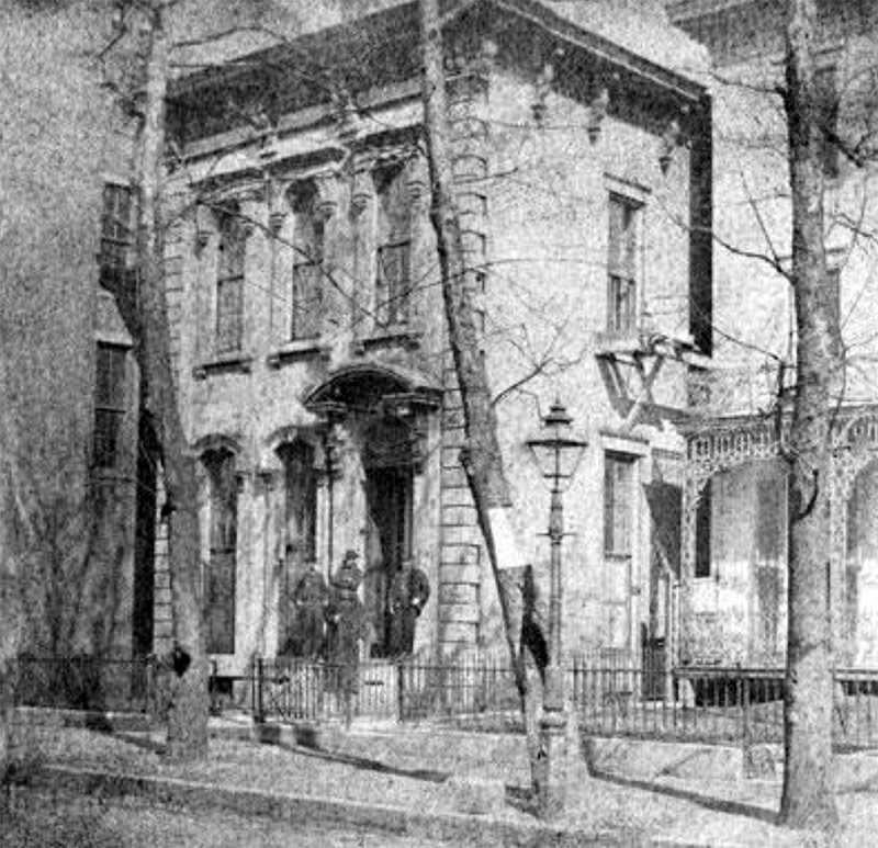 The original Water Company Headquarters on Third Street. (Courtesy Louisville Water Company)