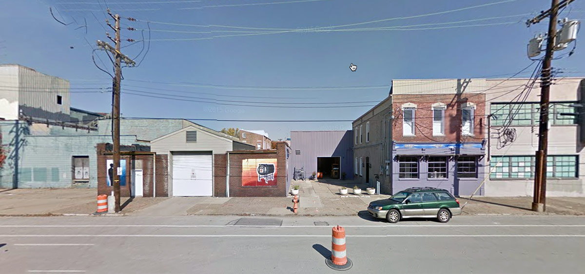 The old Hyland Glass location on East Main Street. (Courtesy Google)