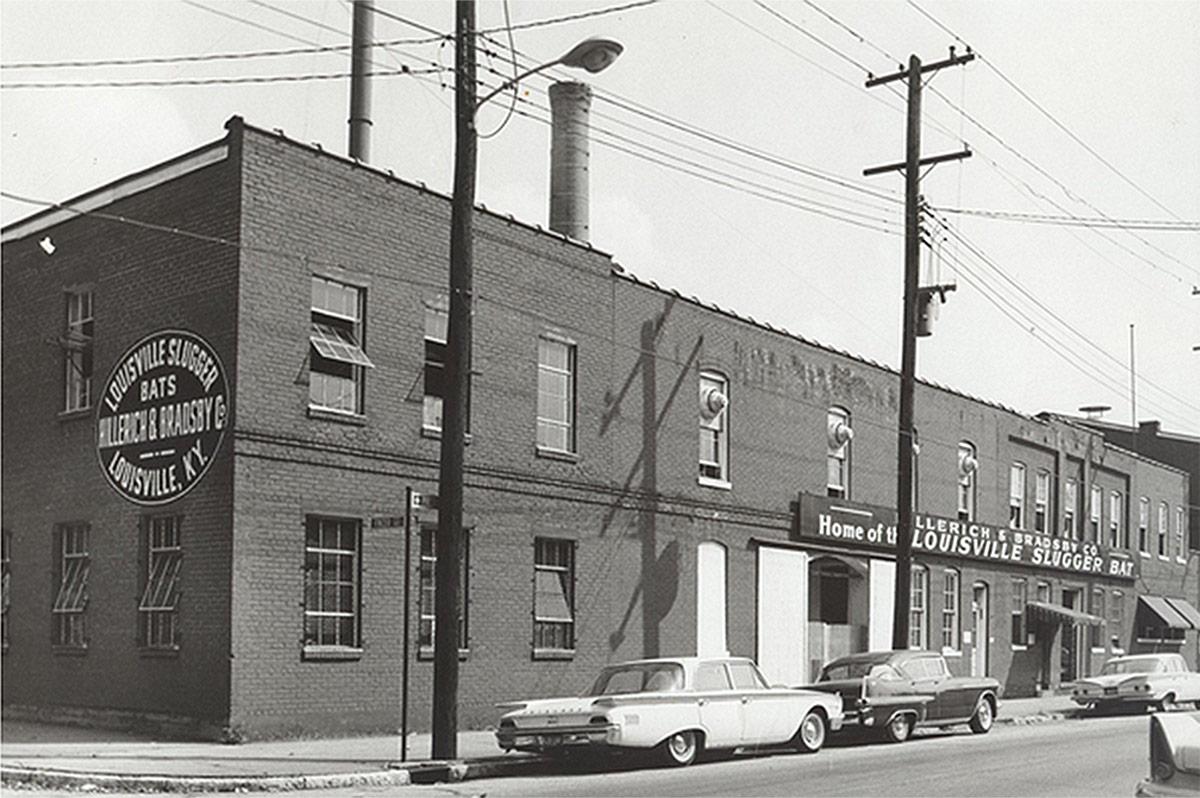 Part of Hillerich & Bradsby's original Smoketown headquarters. (Courtesy H&B)