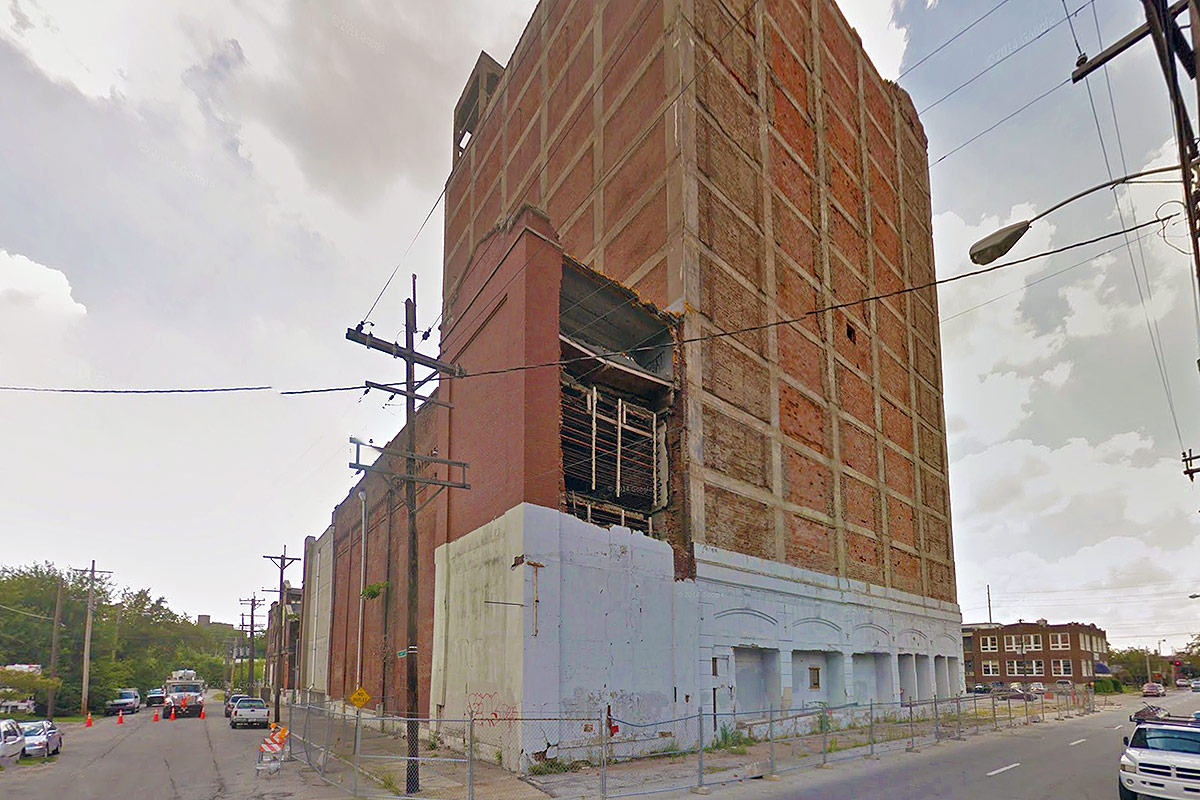 A view of the building in August 2011. (Courtesy Google)