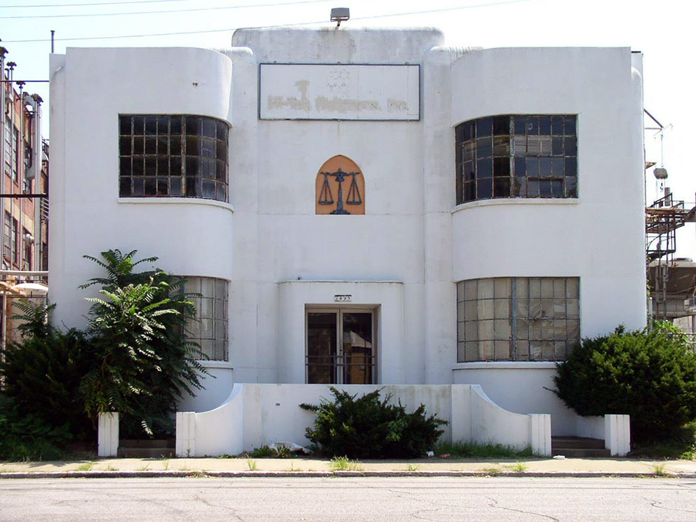The Jones-Dabney Building in 2004. (Bryan Grumley)