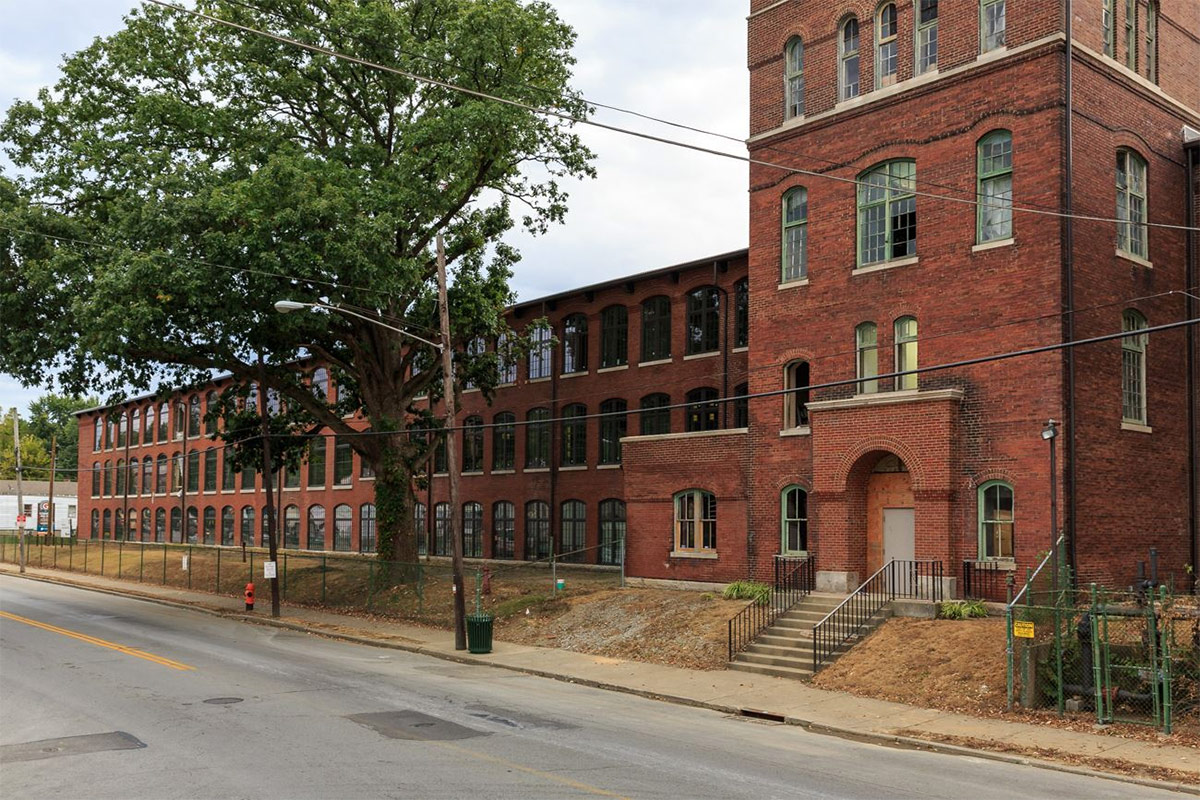 The Germantown Mill Lofts in October 2015. (Courtesy Underhill Associates)