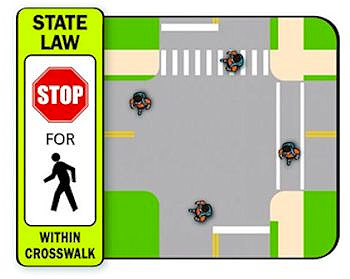 A better approach to pedestrian law makes every intersection a crosswalk, whether it's marked or not.
