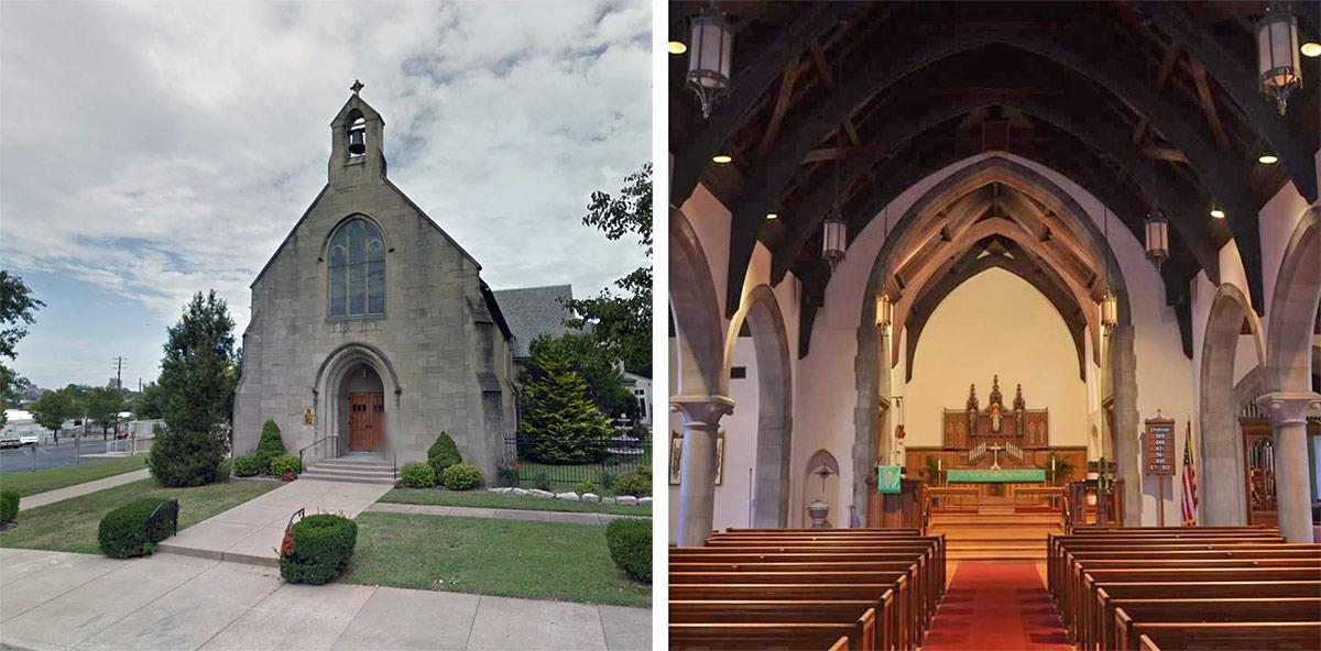 Concordia Lutheran Church. (Courtesy Google; Concordia Lutheran)