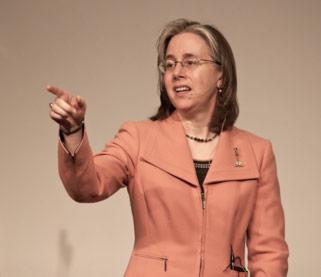 Barbara McCann of the Policy Office of the Secretary for Transportation at U.S. DOT. (Courtesy Barbara McCann)