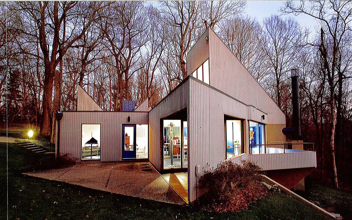 Best Built in the 60s the Leight House stands among