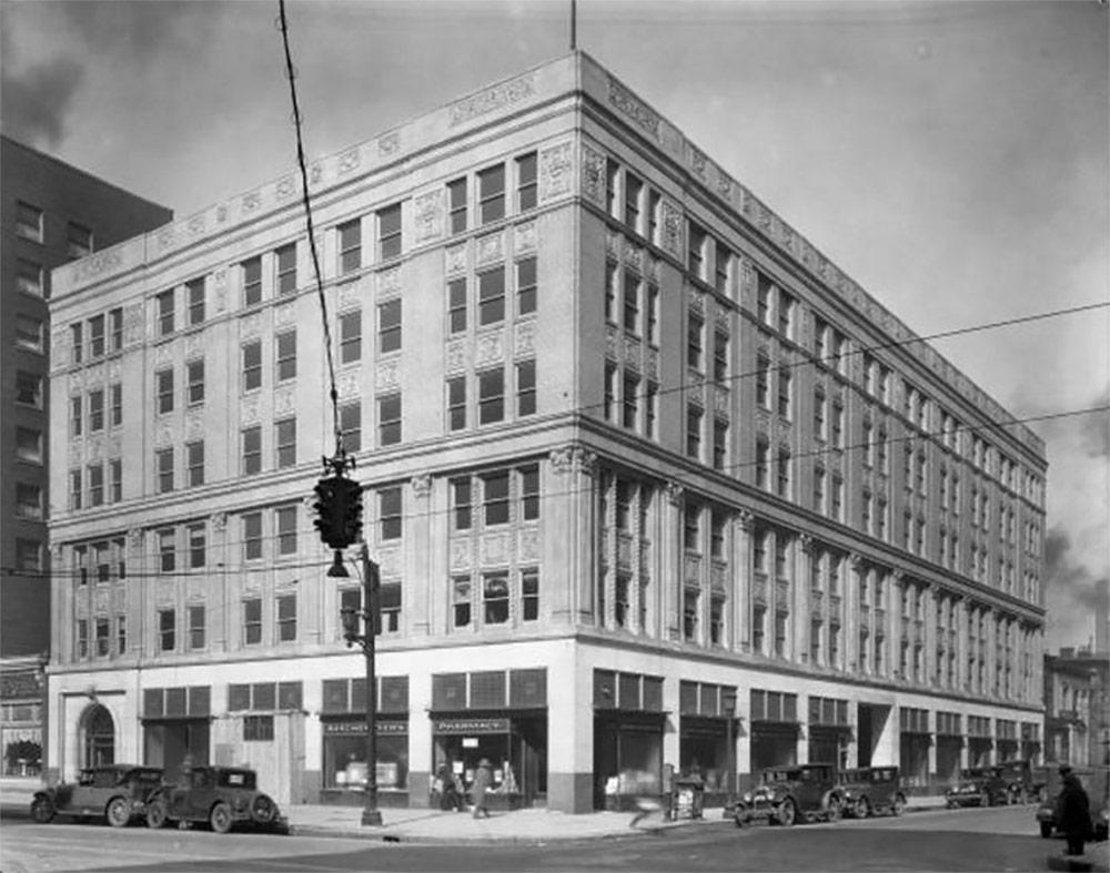 The Breslin Building (today the Fincastle Building) circa 1928. (Courtesy UL Photo Archives)