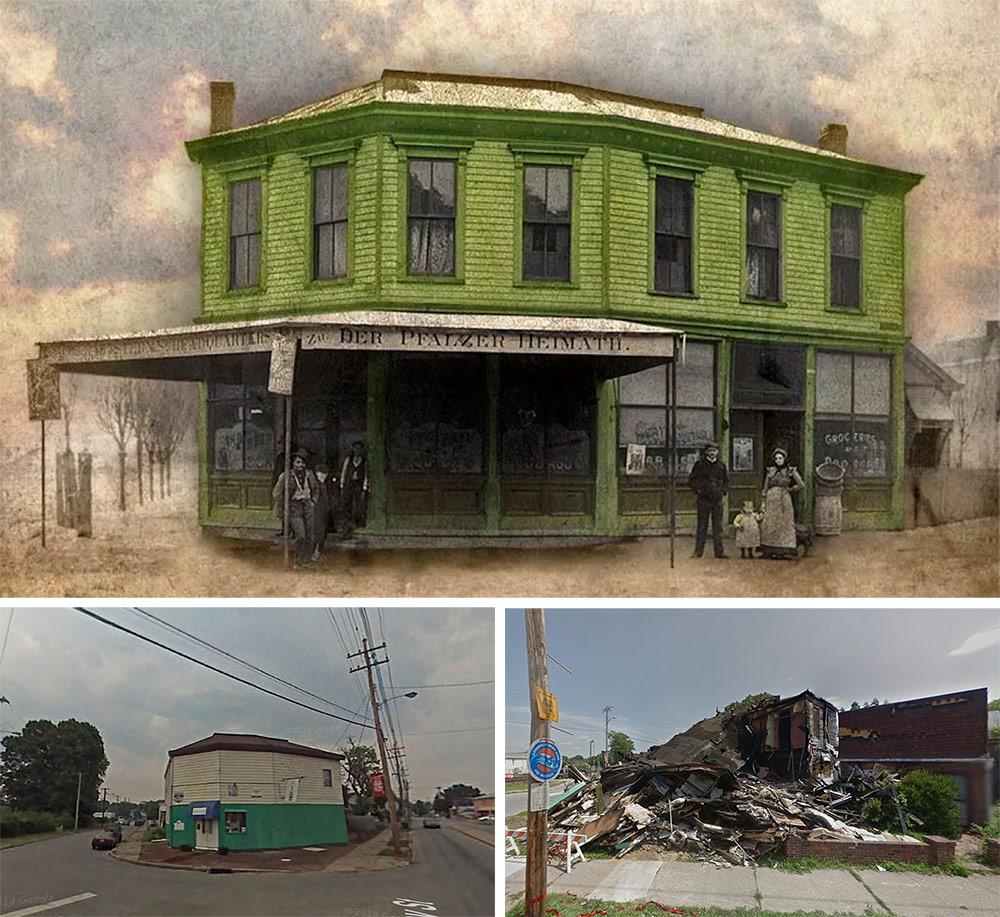 The former Ash Street Station bar was on the site. (Broken Sidewalk / Google)