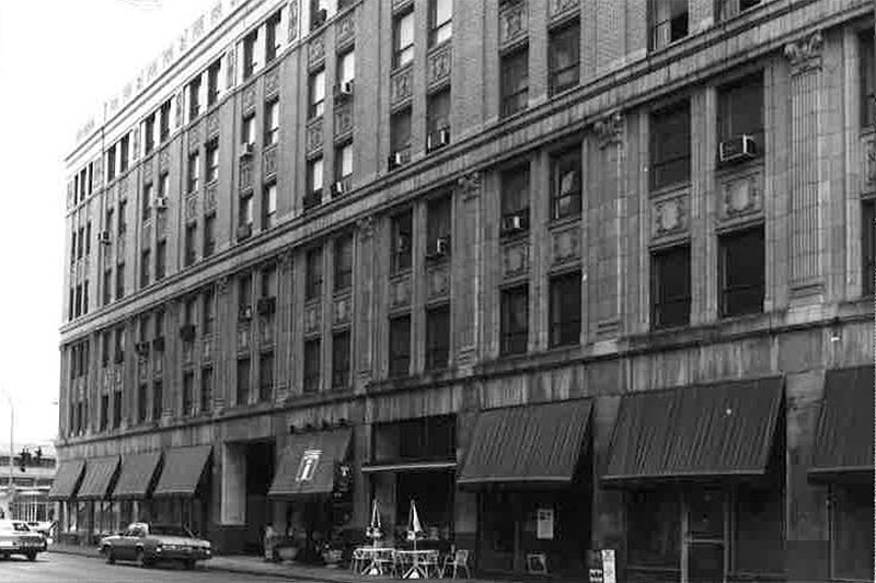 The structure in 1983. (Courtesy National Register)