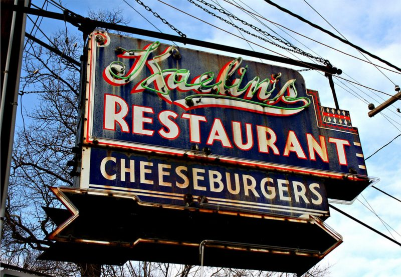 The old neon Kaelin's sign would be restored. (Diane Deaton-Street)