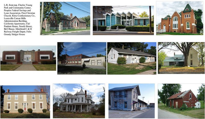 National Park Service lists eleven Kentucky sites on the National Register of Historic Places. (Courtesy Kentucky Heritage Council)