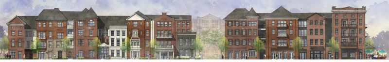 The East Broadway side of the building. (Courtesy Edwards Companies)
