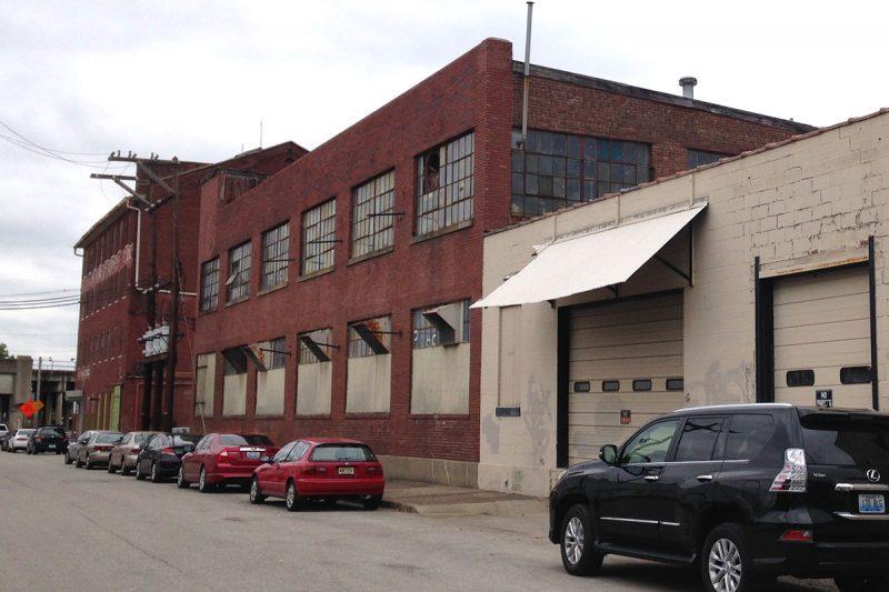 The Klotz building today. (Branden Klayko / Broken Sidewalk)e