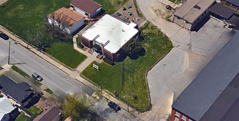 The Administration Building on McHenry Street. (Courtesy Google)
