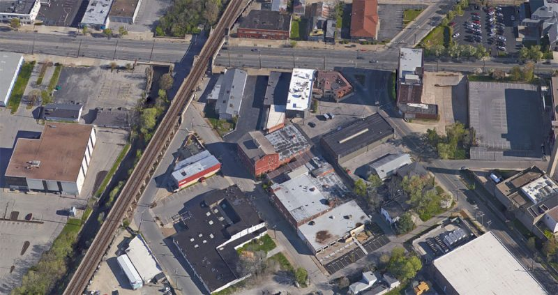 Brent Street in Paristown Pointe is set for a major overhaul. (Courtesy Google)