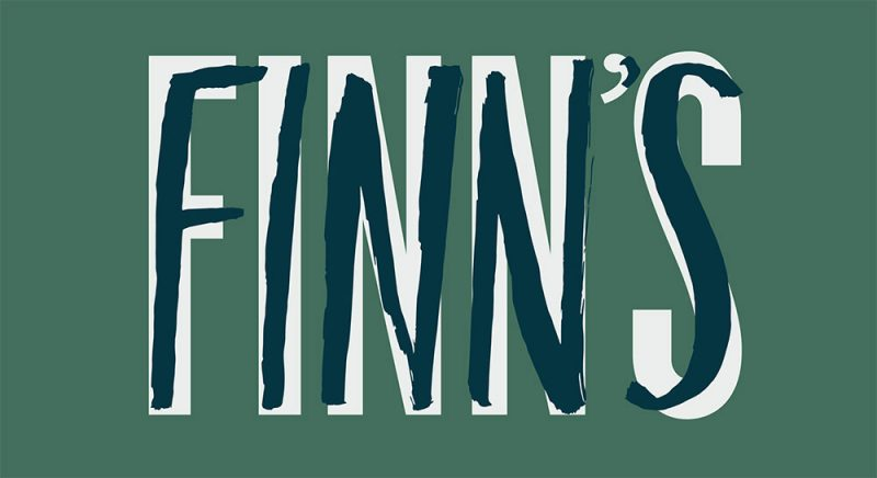 The logo for Finn's Southern Kitchen, expected to open in May. (Courtesy Finn's)