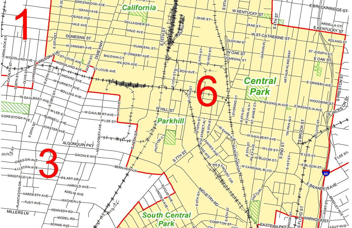 Meet Your Metro Council Candidates District 6  Broken