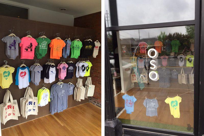 Inside the shop. (Courtesy Oso)