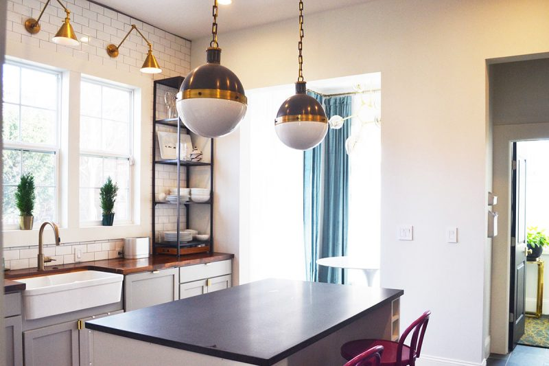 Designer Bethany Adams reconfigured the kitchen to make it the heart of the home. (Courtesy Bethany Adams)