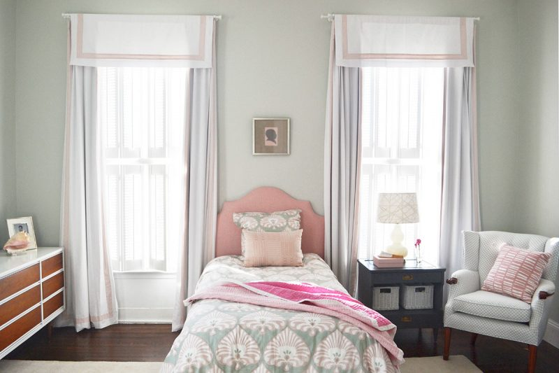 A bedroom in the Adams Residence. (Courtesy Bethany Adams)