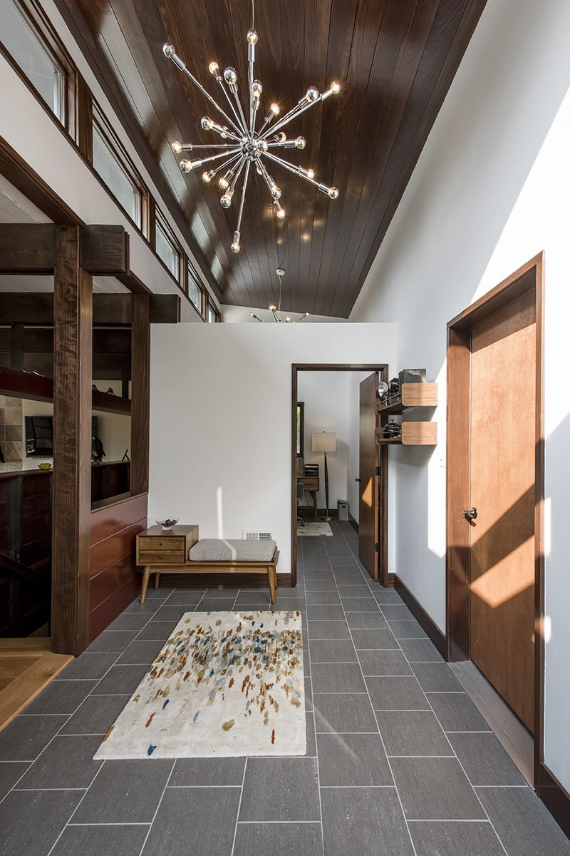 Inside the Abeln Residence by architect Emily Fisher. (Courtesy Rock Paper Hammer)
