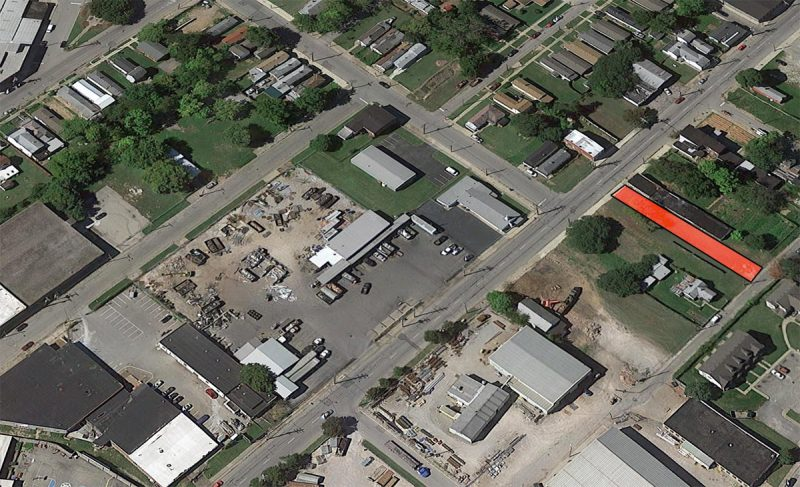 The Healthy House site in the larger context. (Via Google)