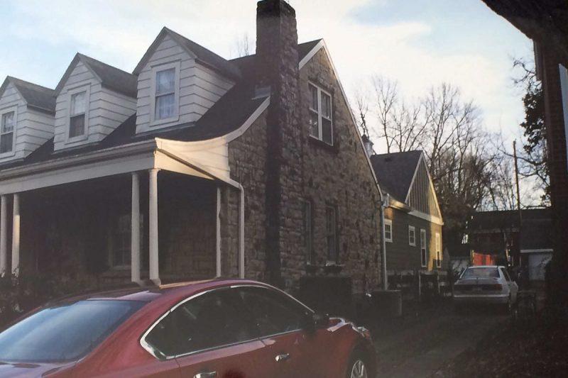 The house before renovation. (Courtesy Mary Herd Jackson)