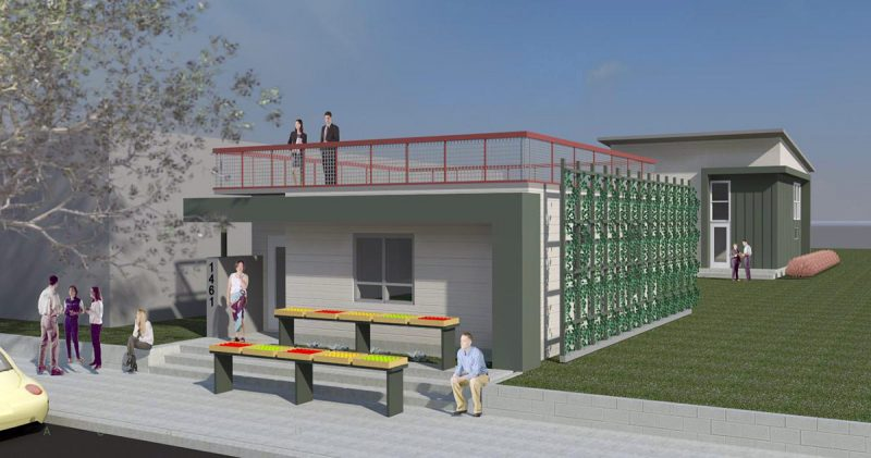 Rendering of the Healthy House. (Courtesy Louisville Grows)