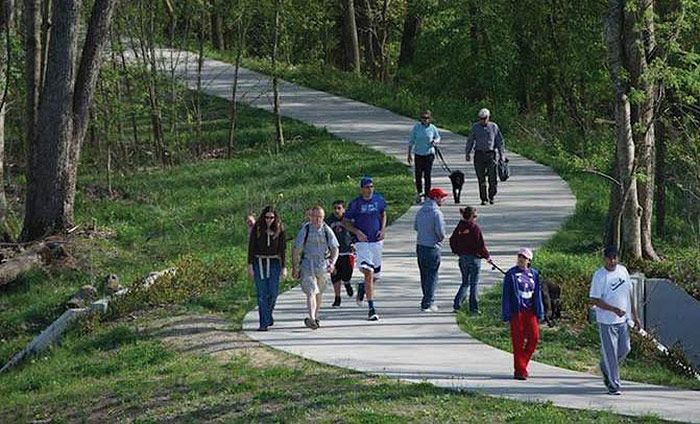 The Louisville Loop priority project is essentially a recreational project rather than a transportation one. (Courtesy Move Louisville)