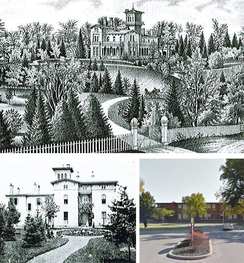 Ivywood once occupied the land where Atherton High School is now located. (Courtesy Steve Wiser)