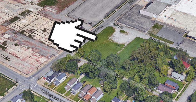 The park site. (Courtesy Google)