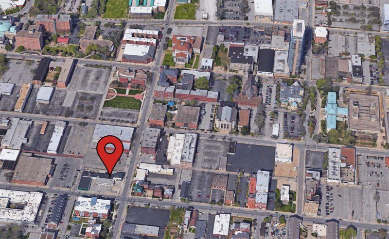 Site of the Puritan Building. (Via Google)